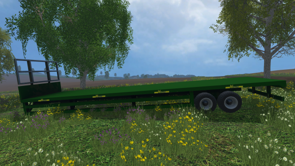 AWTrailer 42Ft Bale Trailer for farming simulator 15