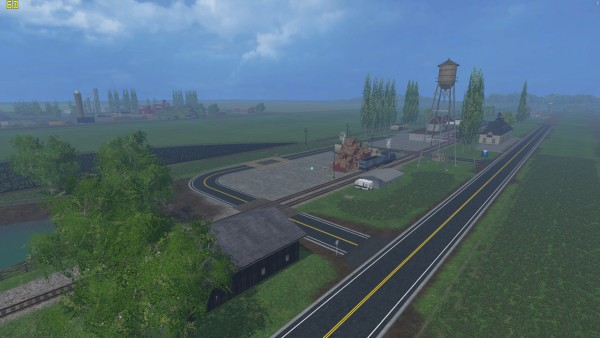 States - Farming simulator 2015 map