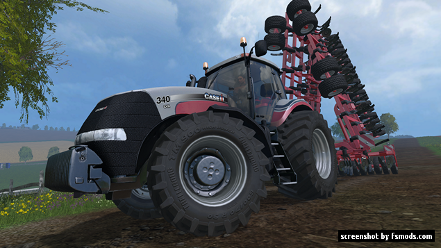 Case IH Magnum 340 by Giants, 25th year edition by KHD-Agro Star