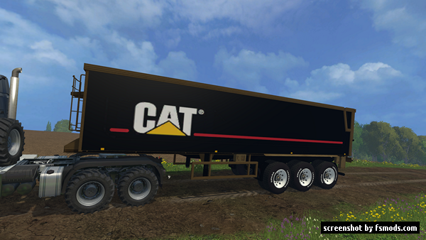 CAT Semi Trailer