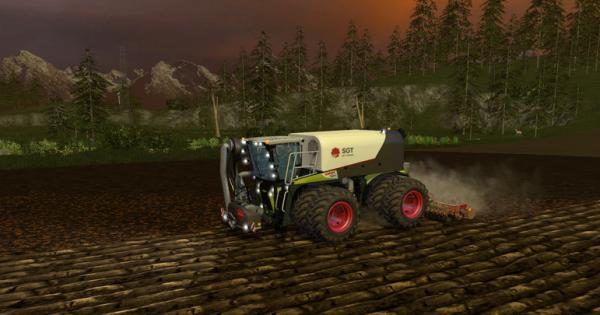 Claas Xerion 4000 SaddleTrac for farming simulator 15