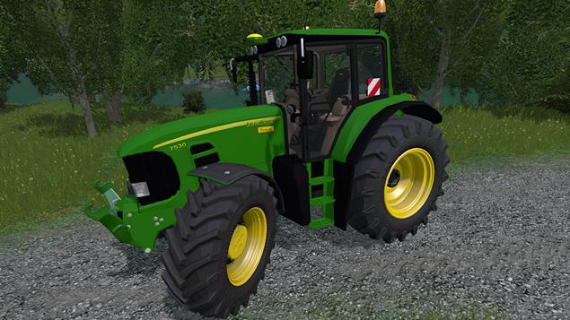 John Deere 7530 Premium for Farming Simlator 2015 - pic 01