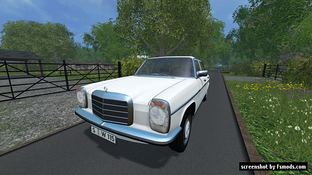 Mercedes Benz 200D 1973 by Modall