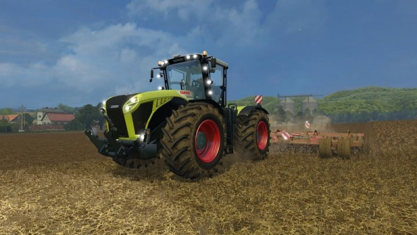 claas-xerion-4500 for farming simulator 15