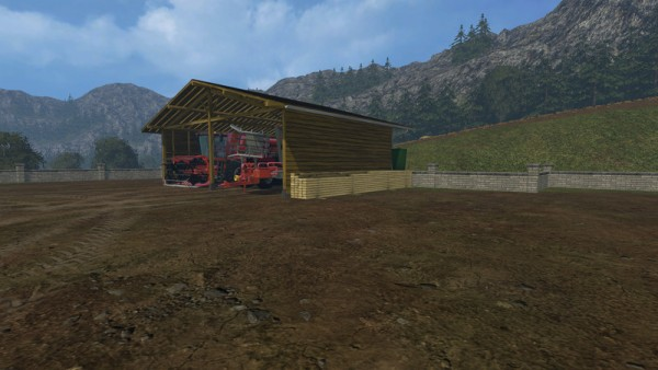 shelter placeable mod for farming simulator 15