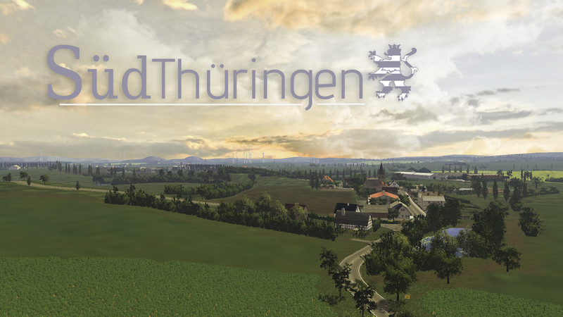 sudthuringen pam for farming simulator 2015
