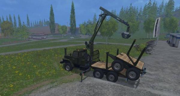 ural timber truck 1