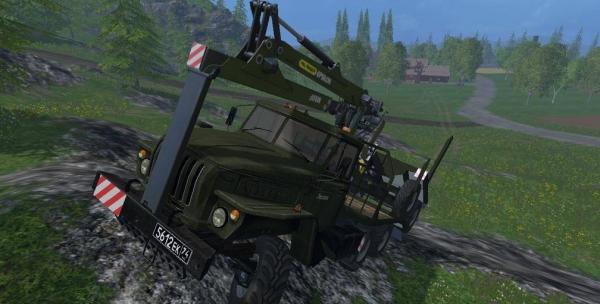 ural timber truck 2