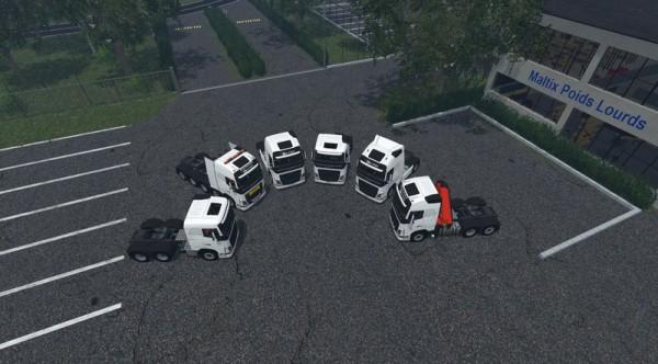 volvo-fh-750-pack for farming simulator 15